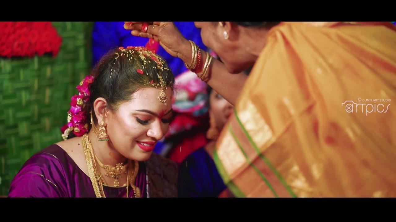 Geetha Madhuri + Nandu Seemantham Teaser By Gunti Art ...