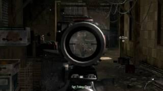 Modern Warfare 2 | 1440x900  resolution gameplay, HIGH detail | 7730g |