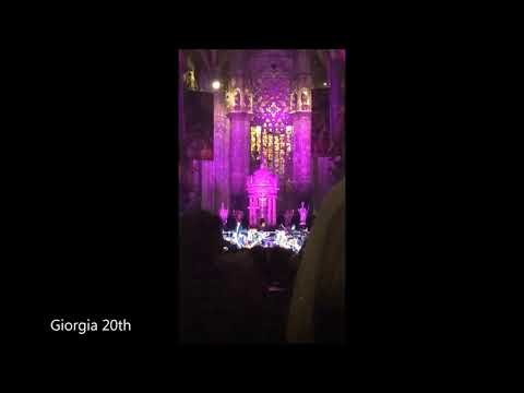 """Giorgia """"Vanità"""" - Concerto nel Duomo di Milano"""
