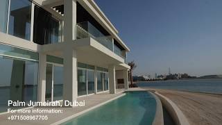 "Luxury ""Malibu Villa"" in Palm Jumeirah (House Tour)"