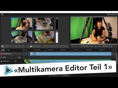 Multikamera Editor Pinnacle Studio 20 Deutsch Übersicht Teil #1 Video Tutorial