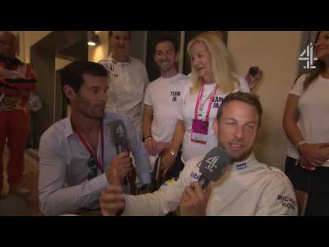 "2016 Abu Dhabi - Post-Race:  ""I'm the happiest man in the world"" - Button"