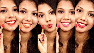 LAKME 9TO5 PRIMER+MATTE LIPSTICK SWATCH & REVIEW | KRISHNA ROY MALLICK