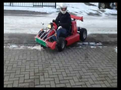 Road legal Go kart. Kitcarcollection Holland.