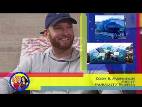 Paint Me A Wall! Muralist/Artist Cody Monahan interview on the Hangin With Web Show