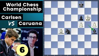 There Was One Winning Move! - Carlsen vs Caruana | World Chess Championship Match 2018 game 6