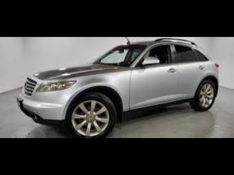 Why the 2007 Infiniti FX45 under $11000 is such a dynamite buy