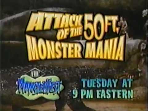 """""""Attack Of The 50 Ft. Monster Mania"""" Promo (AMC 1999)"""