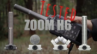 H6 Microphone Capsule Shootout and In-Depth Review