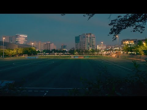 Night view of Ajou University with Panasonic GH5