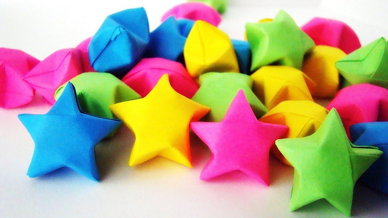 Cara Buat Bintang Kertas Origami Star Youtube