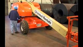 Safe Operation of Scissor Lifts