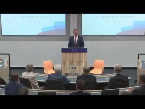 NATO News w/ CC:  Sec. Carter Discusses US /UK Partnership in Global War on Terrorism.