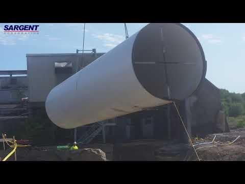 Millinocket Penstock 1 Video