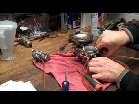 KX250 carb clean & jetting check