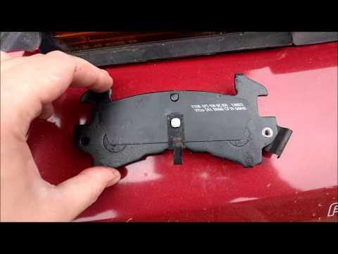 Bosch QuietCast Front Brake Pad installation on a Pontiac Firebird