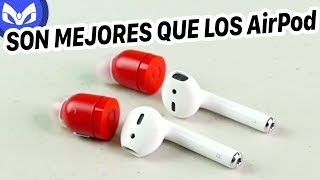 MEJORES QUE AIRPODS DE APPLE ? Air by Crazybaby (NANO)