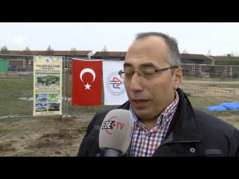 Start bouw Moskee (EDE TV Nieuws 25-01-2016)