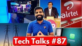 Tech Talks #87 Nokia 8, Whatsapp Problem, AirTel Vs Jio Cheating, Graphene Tattoo, LG G6