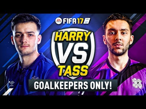 *BRAND NEW SERIES* HASHTAG HARRY vs HASHTAG TASS!! WHO IS GOALKEEPER KING!