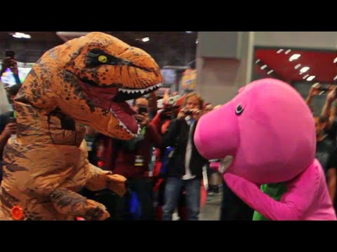 hqdefault t rex costume video gallery know your meme