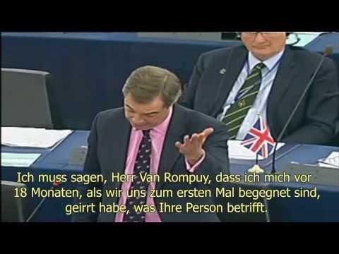 MEP Nigel Farage (NI, UK) on the lack of democratic legitimization of EU Council Presidency (2011)