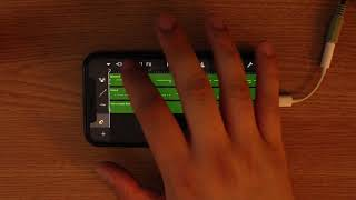 Maroon 5 - Girls Like You on iPhone (GarageBand)