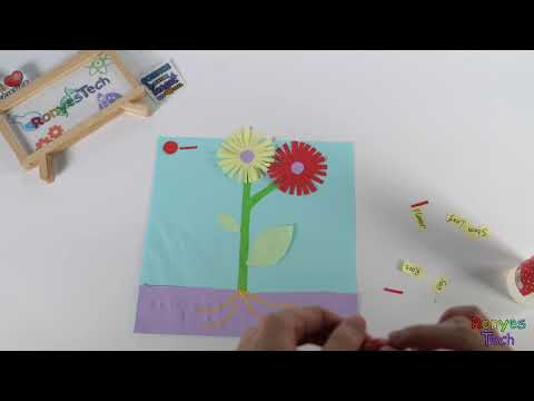 Grow an Origami Plant with Kids