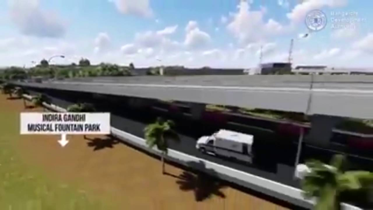 Steel Flyover in Bengaluru : An animated 3D video by BDA