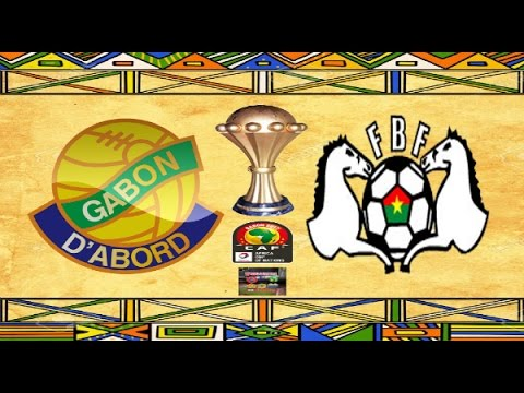 PS4 PES 2017 Gameplay Gabon vs Burkina Faso HD