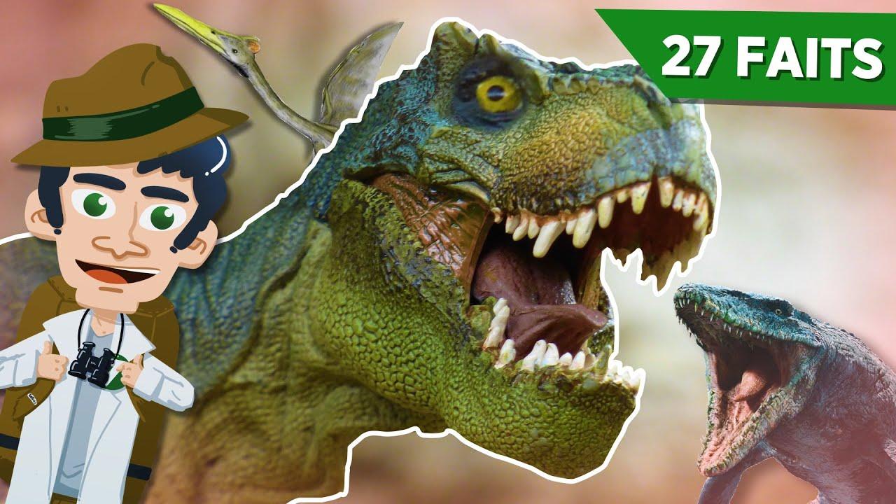 27 faits surprenants et incroyables sur les dinosaures !
