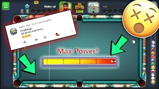 8 Ball Pool - MAX POWER CHALLENGE - Berlin 50M [No Hack] - تحدي ضرب كل الكراة بقوة 😎