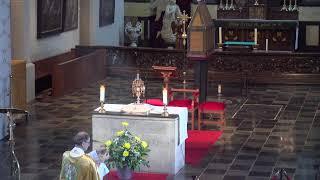 Marktmis vrijdag 11 juni, aansluitend Uitstelling en aanbidding, St.-Elisabethkerk Grave
