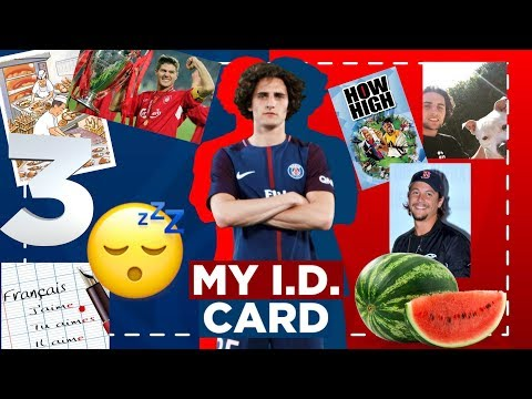 MY I.D. CARD - EP1 - ADRIEN RABIOT