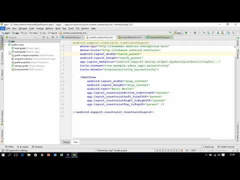Android Tutorials:-How To Change Font Size In Android Studio.