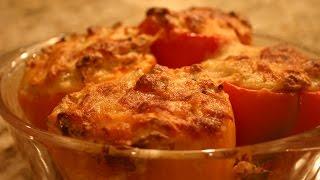 Low Carb Salsa, Turkey Stuffed Peppers