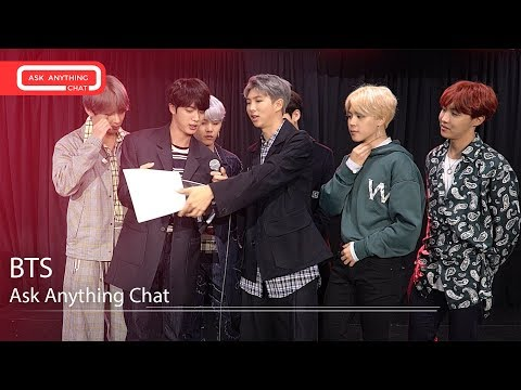 BTS Get Ready For Their Bonus Most Requested Live Bonus Ask Anything Chat
