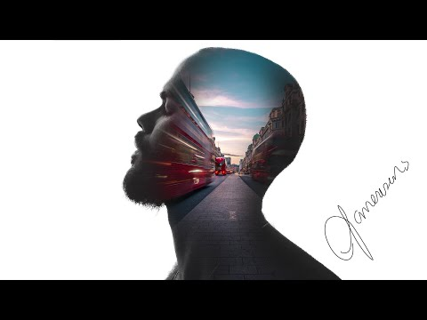 Double exposure effect - Photoshop Tutorial ( Very easy ) thumbnail