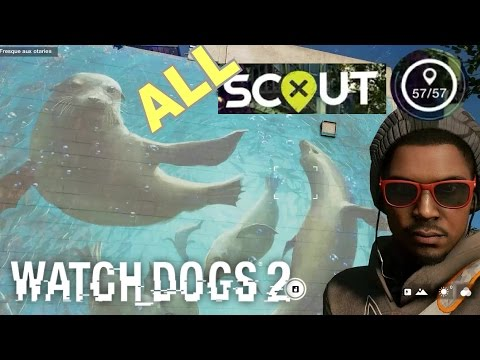 Watch Dogs 2: All  57 ScoutX  Location / Position