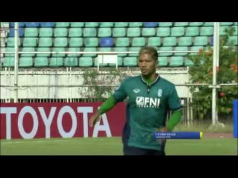 Yangon United 2 x 1 South China - AFC Cup 2016