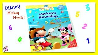 DISNEY MICKEY MOUSE CLUBHOUSE &quotMICKEY&#39S ROUNDUP&quot - Read Aloud Storybook for kids, children