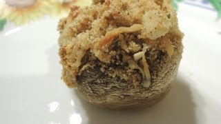 Simple Stuffed Mushroom With Imitation Crab Meat