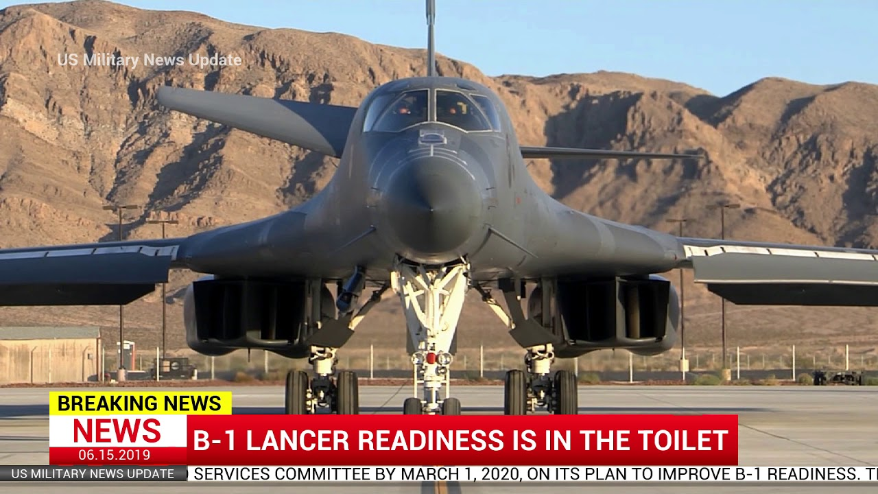B-1 Lancer readiness is in the toilet, News Alert !