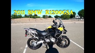 2011 BMW R1200GSA ride review