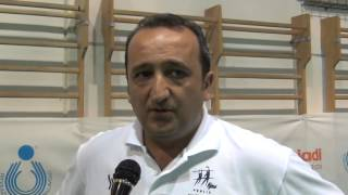 30-07-2014: tdrvolley2014, Vincenzo Fanizza dopo le prime due vittorie della Puglia maschile