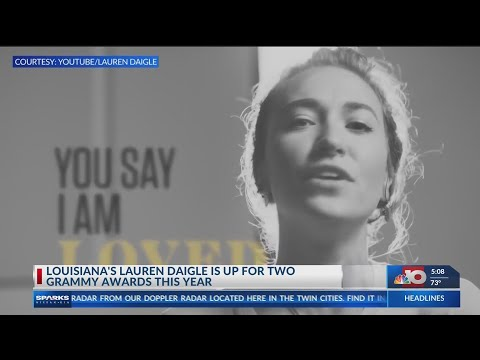 Louisiana's Lauren Daigle Is Up For 2 Grammy Awards This Year