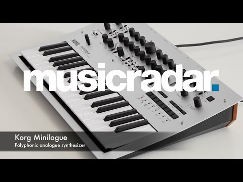 Korg Minilogue | MusicRadar