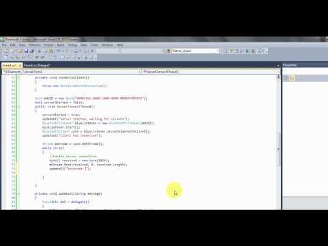 C# bluetooth tutorial 3