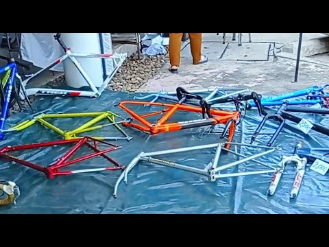 เฟรมจักรยาน สวยๆ ยี่ห้อดังๆ ถูกๆ 2 พันบาท หาไม่ได้อีกแล้ว ตลาดนัด TOT