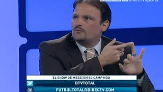 "DIRECTV Sports™ - Debate en ""Fútbol Total"" ¿Maradona o Messi?"